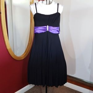 Pleated cocktail, Homecoming, Prom dress
